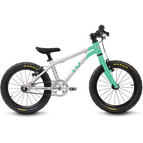 "Early Rider Belter Trail 16"" Bicicletta Bambino, brushed aluminum/cyan"